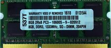 8GB DDR3-1333 204 PIN DDR3 SODIMM Memory for Apple Macbook Pro