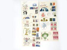 FRANCOBOLLI 1959 REPUBBLICA 13 BUSTE FDC ANNATA Z/4214