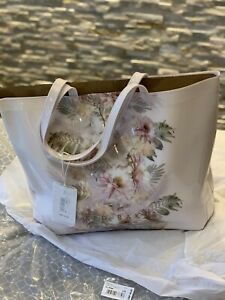 Ted Baker Woodland Floral Pink Large Tote/Shopper Bag Brand New With Tag