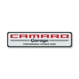 Classic Camaro Garage Garage Sign, Home Decor Metal Sign