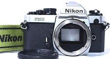 NEAR MINT Nikon New FM2 FM2N 35mm SLR Film Camera Body with Strap From Japan
