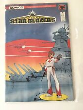 "1987 COMICO Comics ""STAR BLAZERS"" No. 1 of 4 Issue Series VF 8.0 April 1989"