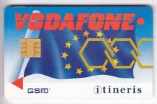 TELECARTE GSM SIM COLLECTOR .. FRANCE ITINERIS VODAFONE ABONNES +N° CHIP/PUCE