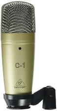 Behringer C-1 Studio Condenser Microphone Podcast Webinar Home Recording