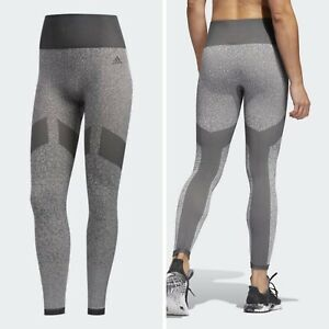 Adidas Interval SL TGT Grey Leggings Athletic Running Size XS El7567 New NWT