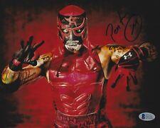 Pentagon Jr Penta M Signed 8x10 Photo BAS COA Lucha Underground Impact Wrestling