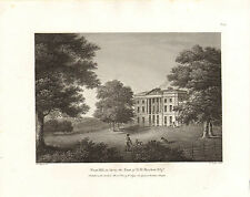 the seats of nobility & gentry 1787 - 1815 engraving of west hill in surrey