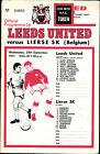 Fairs Cup - EC III 71/72 Leeds United F.C. - Lierse SK, 29.09.1971