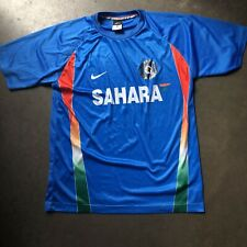 Men's Nike Dri-Fit Sahara Team India Blue National Cricket Team Jersey Sz Large