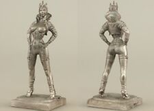 tin toy soldiers unpainted  60mm  girl