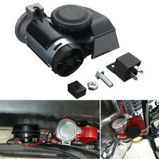 12 V 130dB Auto Lkw Motorrad Dual Tone Trompete Super Laute Luft Horn Zug Kits
