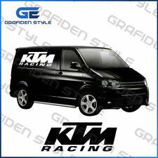 1 Paar - KTM RACING  - Auto Seiten Aufkleber - KTM Sticker - B 60cm !