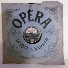 78T SAPHIR 30cm Disque GARDE REPUBLICAINE Phono CHRISTINE DE SUEDE - OPERA 2104