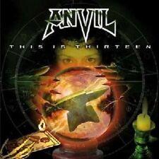 ANVIL - THIS IS THIRTEEN-RE-RELEASE  CD 14 TRACKS HEAVY METAL HARD ROCK NEU