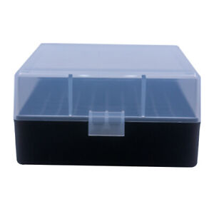 223 / 5.56 Ammo Box Clear/Black 100 Round (Quantity 5) Free Shipping (Berry's)