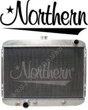 Northern 205132 Ford 67-69 Mustang 302 351 429 Aluminum Radiator w/ Trans Cooler