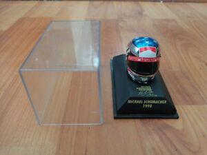 MINICHAMPS 1/8 MICHAEL SCHUMACHER 1998 FERRARI CHROME JAPAN FORMULA 1 F1 HELMET