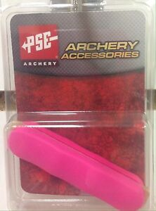 NEW PSE ARCHERY PINK COLORED RUBBER PANEL GRIPS FOR PSE BOW HANDLE