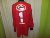 "Sao Paulo FC Adidas Matchworn Torwart Trikot 1997/98 ""BOMBRIL"" Gr.XL- XXL TOP"