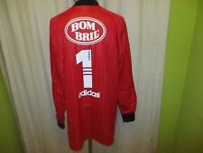 "Sao paulo fc adidas matchworn portero camiseta 1997/98 ""bombril"" talla XL-XXL Top"