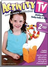 Activity TV: Jewelry & Family Crafts & Gifts - Projects for Kids on 2 New DVDs!