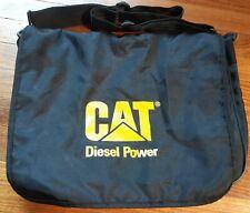 Caterpillar CAT Diesel Power Black Record Bag Satchel