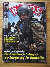 "RAIDS n°264 Opération ""Thalatine"" Otages Somalie. Opération ""Soleil"" Turc VS PKK"
