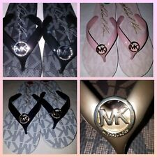 MICHAEL KORS womens flip flops 1 pair PICK your COLOR
