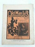 Old Man Jazz Gene Quaw Fox Trot Jennie Hartley c.1920 Australian Variant