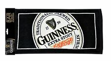 Guinness Logo 19X10 Woven Beer Bar Golf Towel New