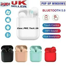 Wireless Bluetooth Earphones Headphones In Ear Earbuds For All Devices -UK Stock