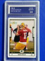 2005 SCORE #352 - AARON RODGERS RC ROOKIE CARD ~ Graded GEM MINT 10