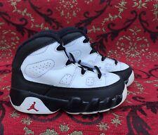 NIKE Air Jordan #9 Retro BT 401812-112 White Red Black Toddler Size 7C