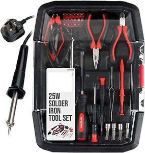 Apollo 35 Piece Electronics & Soldering Repair Tool Set Kit. For PCBs Gadgets uk