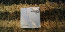 New Premiere 9101 E Microscope Slides 75mm X 25mm Fine Ground Edge 72box