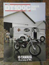 Yamaha DT100C  Sales Brochure,  1976 Original NOS