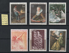 "1971/3, France ""French Art"" selection of 6, sg1909, 1944/5 & 1968/8  u/m/m."