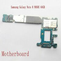 Main Motherboard Replace for Samsung Galaxy Note 8 N950U 64GB Unlocked Function