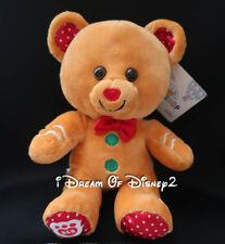 NEW Build-A-Bear CHRISTMAS GINGERBREAD BUDDY SMALLFRYS BUDDIES Plush Mini Teddy