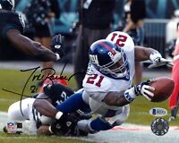 TIKI BARBER SIGNED AUTOGRAPHED 8x10 PHOTO NEW YORK GIANTS LEGEND BECKETT BAS