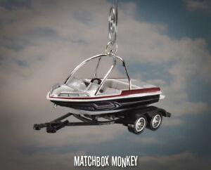 Waterski Wakebord Boat Christmas Ornament Mastercraft Moomba Supra Water Ski