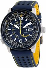 Citizen Men's Blue Angels Promaster Nighthawk Eco-Drive Watch BJ7007-02L NEW