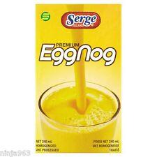 3 x  Serge Island Premium Eggnog (240ml)