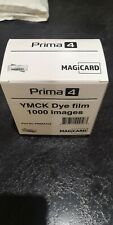 More details for prima 4 ymck dye film 1000 images magicard