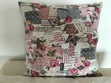 Vintage French Chic cushion / pillow cover with cushion pad.
