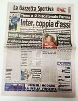 GAZZETTA DELLO SPORT 28 SETTEMBRE 1997 4° GIORNATA CAMPIONATO SERIE A