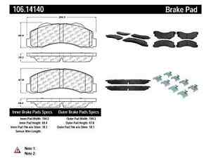 StopTech Disc Brake Pad for 10-15 Ford Expedition & Lobo / Lincoln Navigator