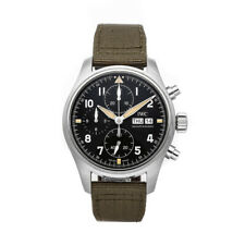 IWC Pilot's Watch Spitfire Chronograph Steel Auto 41mm Mens Watch IW3879-01