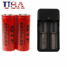 2-RECHARGEABLE BATTERYS & 1-DUAL CHARGER FOR SHADOWHAWK X800 TACTICAL FLASHLIGHT