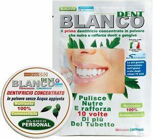 Blancodent Dentrifricio Senza Fluoro In Polvere Colluttorio Naturale Denti Bianc